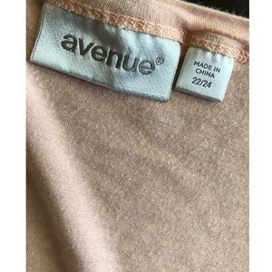 Avenue Tops - Avenue Orange Ombré Knit Cardigan 22/24